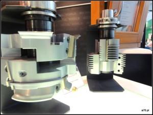 Głowice do CNC do produkcji okien