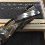 Ostrzenie frezów diamentowych do CNC